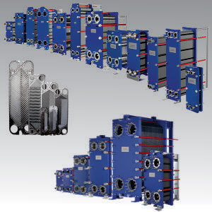 Apv H17 Plate Heat Exchanger