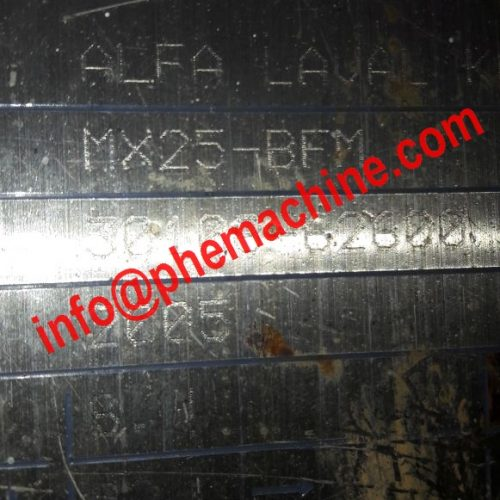 Alfa Laval MX25 BFM Plate Heat Exchanger Plates